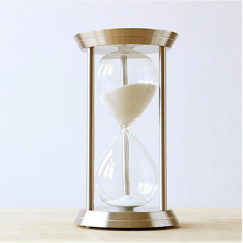 Reloj De Arena Metálico